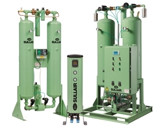 Air Treatment Michigan: Brand-Name Compressors | Metro Air Compressor - Desiccant_Dryer_Picture